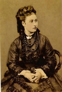 Queen Victoria's daughter Princess Louise wearing jet beads