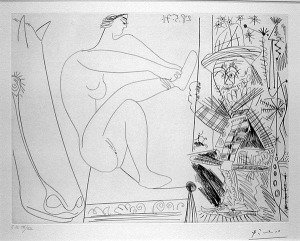 For a specific original Picasso print, it is often known exactly what kind of paper, and even watermark, he used.