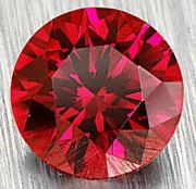 the ruby has a Mohs hardness of 9