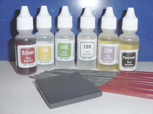 Precious Metals Acid Testing Kit