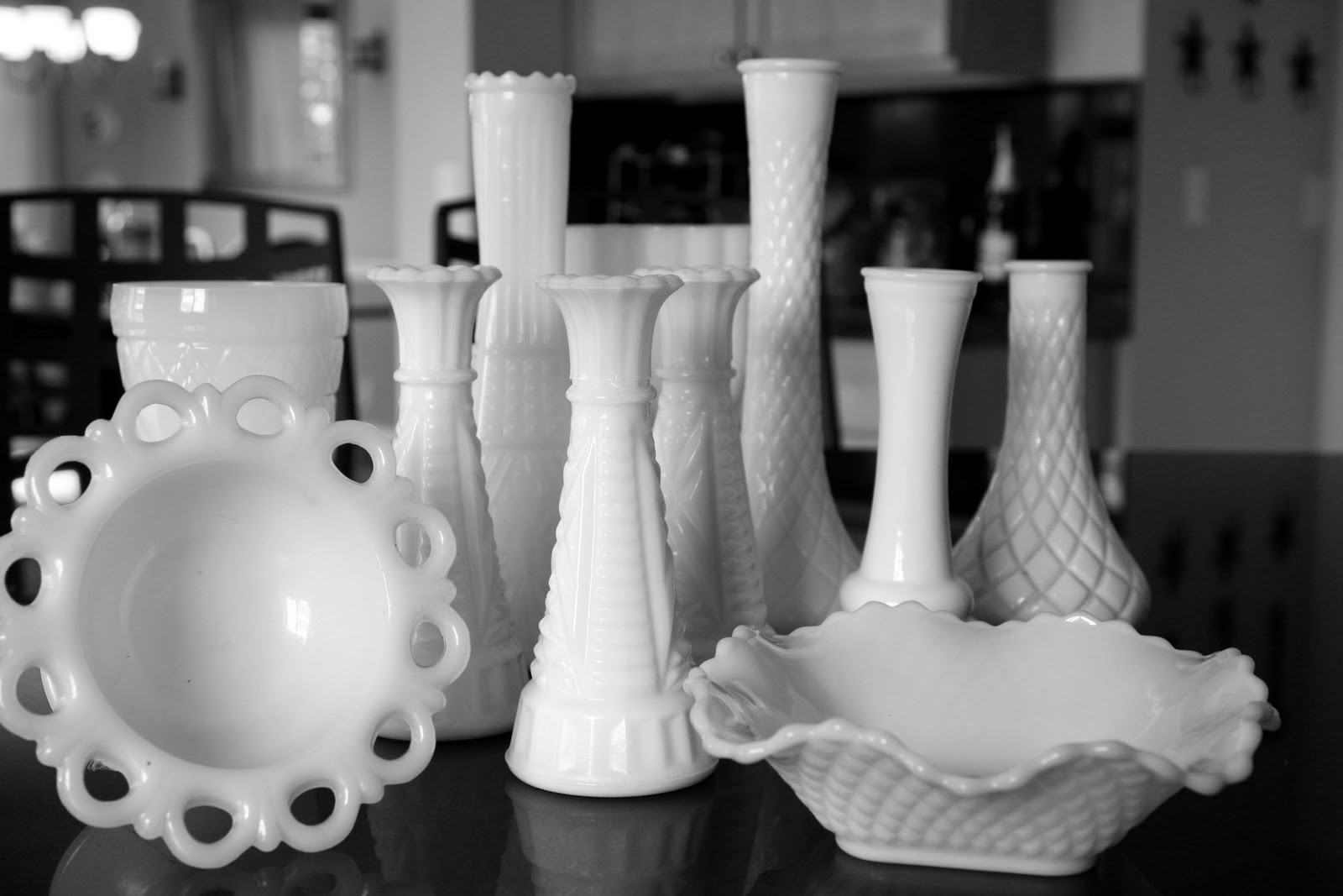 A look at different types of antique glass looking at art milk glass floridaeventfo Gallery