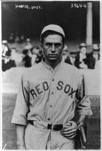 American baseball star Harry Hooper