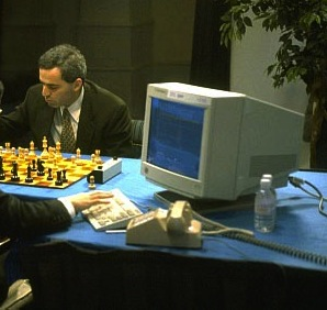 Man versus computer at chess