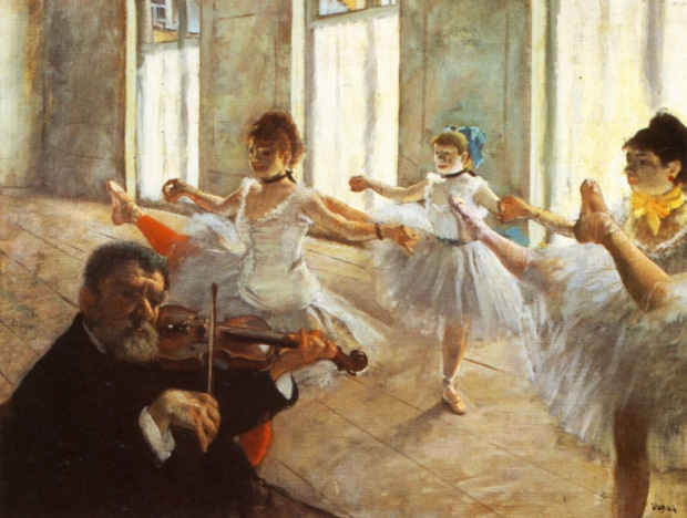 1879-Ecole-de-dans-repetition-de-danse-Huile-sur-Toile-47x61-cm-New-York-the-Frick-Collection